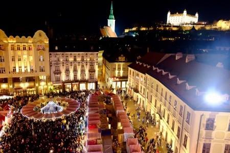 Adventní Bratislava + BUDAPEŠŤ + VÍDEŇ (autobusem z Prahy), Rakousko