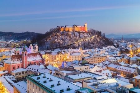 Adventní Lublaň + WELLNESS (autobusem z Prahy), Slovinsko