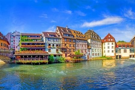 Alsasko cestou vína a Štrasburk, Francie
