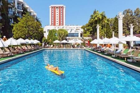Club Hotel Sera, Antalya letecky odlet z Prahy Brna Ostravy Pardubic