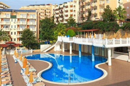 Club Paradiso Hotel, Alanya v květnu