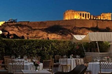 Divani Palace Acropolis, Athény letecky odlet z Prahy Brna Ostravy Pardubic