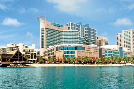 Hotel Beach Rotana, Abu Dhabi v říjnu