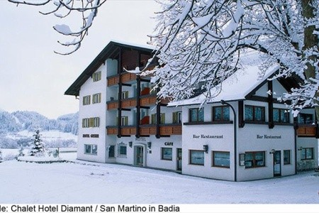Hotel Diamant V San Martino Di Badia, Lyžování Alta Badia