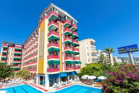 Hotel Galaxy Beach, Alanya v květnu