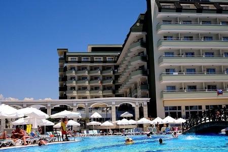 Hotel Holiday Garden, Alanya v červenci