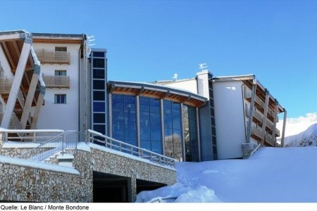 Hotel Le Blanc V Monte Bondone – 300 M Od Lanovky,