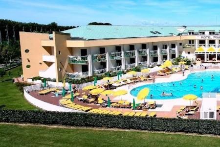 Hotel Maregolf**** – Caorle Lido Altanea, Veneto (Benátská riviéra)