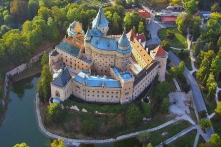 Hrady a termální lázně Turce a Liptova, Slovensko