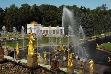 Petrohrad a Novgorod,