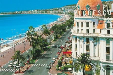 Riviéra – perly Azurového pobřeží s koupáním, Francie