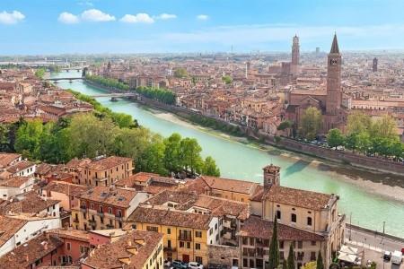 Romantická města severní Itálie, Itálie