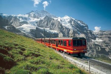 Švýcarské železniční dobrodružství 2, Švýcarsko