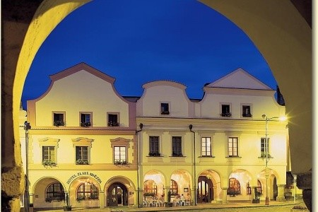 Třeboň – Hotel Zlatá Hvězda, Invia