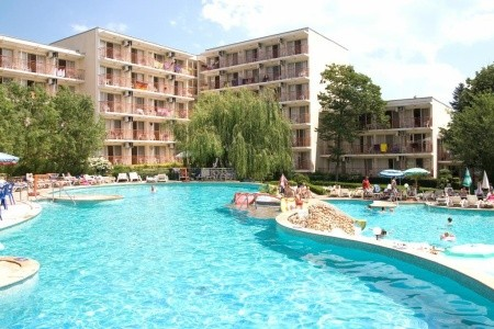 Vita Park Hotel, Albena letecky odlet z Prahy Brna Ostravy Pardubic