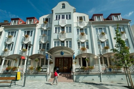 Hotel Erzsébet, Maďarské termální lázně